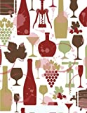Wine Notebook: Wine Lover Journal Book Ruled Lined