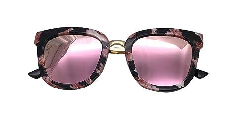 Saino - Gafas de sol para niña, lente HD, redonda, efecto ...