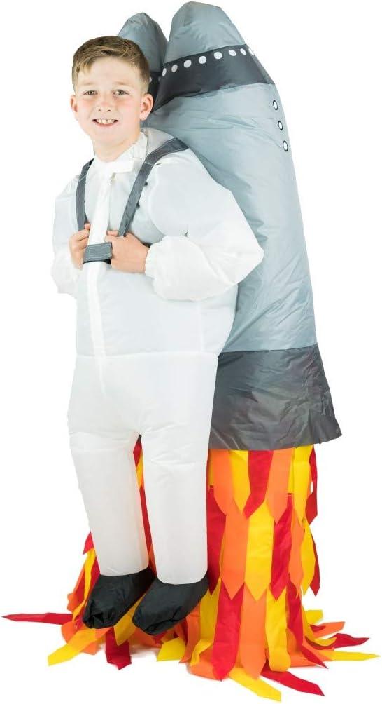 Bodysocks® Disfraz Hinchable de Jetpack Niño: Amazon.es: Juguetes ...