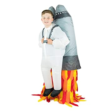 Bodysocks® Disfraz Hinchable de Jetpack Niño: Amazon.es: Juguetes ...