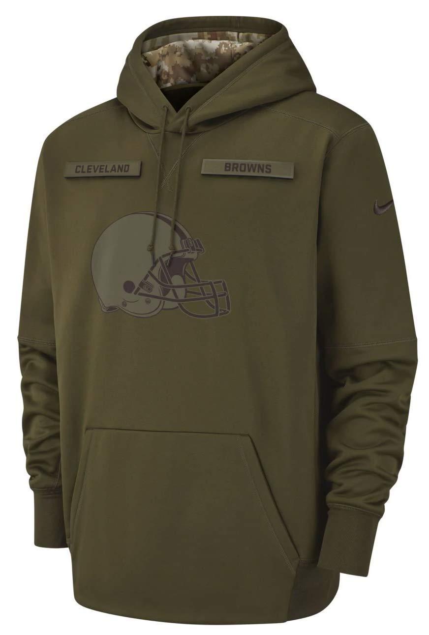 quality design b89d0 13ac4 Amazon.com : Cleveland Browns 2018 NFL Salute to Service ...