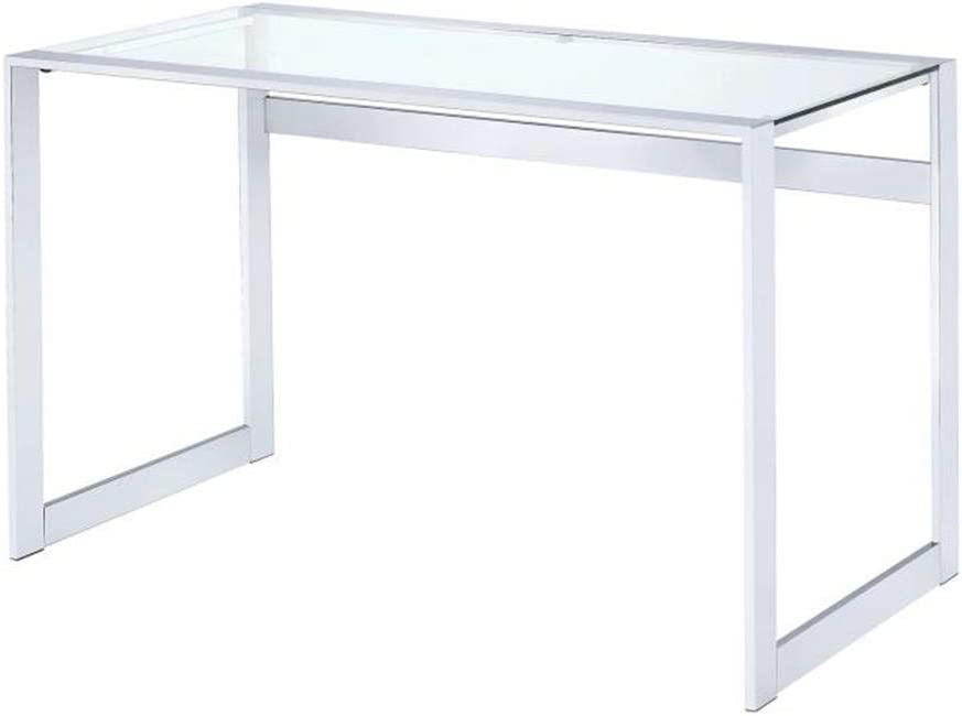 Coaster CO- Writing Desk, Chrome