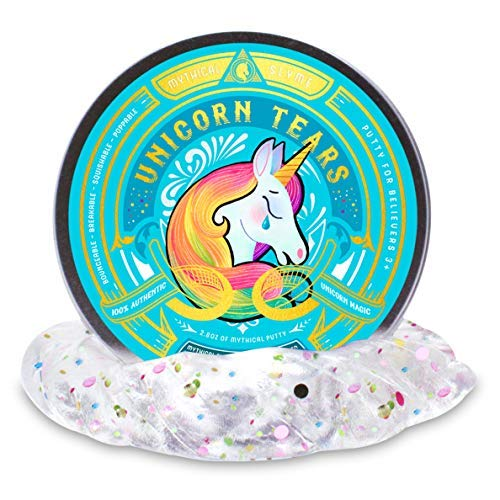 Mythical Slyme Unicorn Putty Great Gag Toy - Perfect for Easter Basket Stuffers for Birthdays, Parties and Special Celebrations (6-Set) by Mythical Slyme (Image #3)