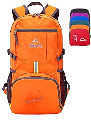 Venture Pal 35L Travel Backpack - Packable Durable Lightweight Hiking Backpack Daypack