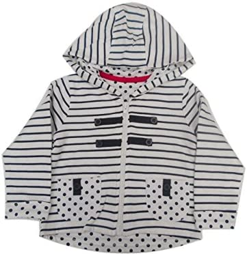 BNWOT Ex high Street Fully Lined Hooded Jacket 18-23 Months White