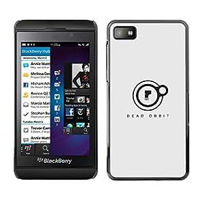 EJOY---Cubierta de la caja de protección la piel dura para el ** Blackberry Z10 ** --Orbit Dead