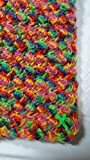 Hand Crafted Crochet Blanket (Riddle Stitch)