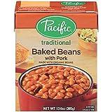 Pacific Natural Foods Bkd Beans W/Pork (12x13.6OZ )