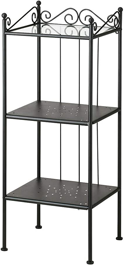 IKEA ASIA RONNSKAR - Estantería, Color Negro: Amazon.es: Hogar