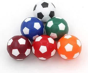 COSDDI 6 Piezas 32/36mm Table Soccer Foosball Reemplazos Mini Mesa ...