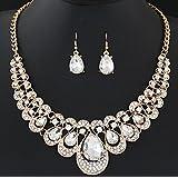 288# - 1 New Arrival Women Jewelry Pendant Choker Chunky Statement Chain Bib Necklace