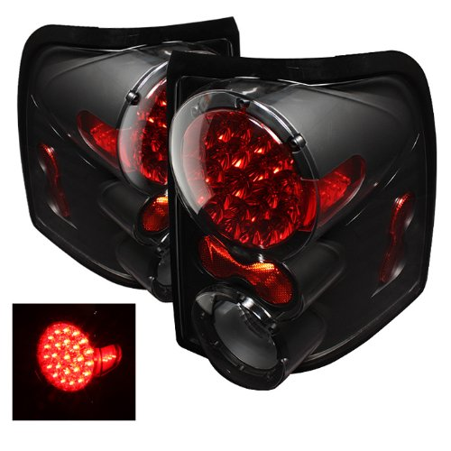 - Spyder Auto ALT-ON-FEXP02-LED-BK Ford Explorer 4-Door/Mercury Mountaineer Black LED Tail Light