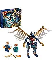 LEGO 76145 Super Heroes Eternals luftattack Superhjälte Byggset, Marvel Leksak för Barn 7 år