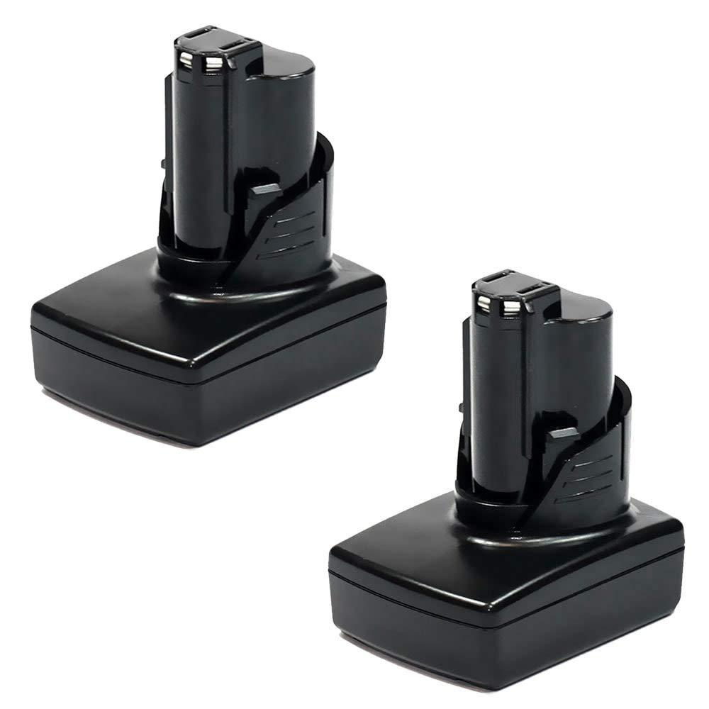 Compatible con Milwaukee C12 BL2 // C12 CME // C12 CMH // C12 JSR // C12 D // C12 DD sustituci/ón Pila reemplazo Herramienta 12V, 3Ah, Li-Ion M12B bateria de Repuesto M12 CELLONIC/® Bater/ía Premium