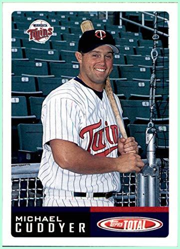 2002 Topps Total #586 Michael Cuddyer MINNESOTA TWINS