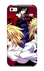 Tpu Iphone Shockproof Scratcheproof Fate/stay Night Hard Case Cover For Iphone 5c