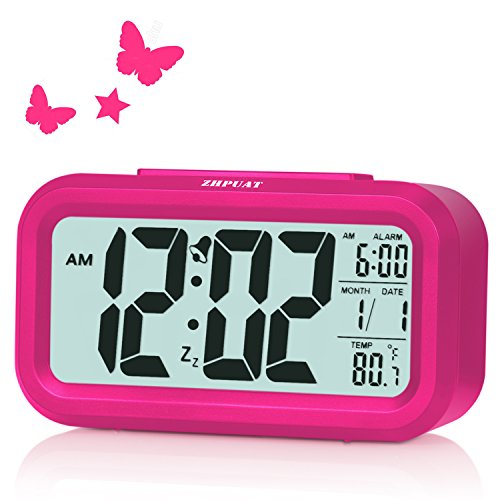 ZHPUAT Alarm Clock for Kids, 4.6