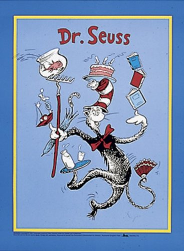 Peaceable Kingdom Poster Print - The Cat in the Hat™ Dr. Seuss™ Poster