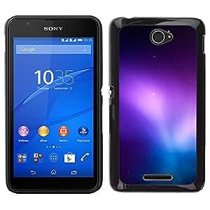 El Radiance Of Wonder - Metal de aluminio y de plástico duro Caja del teléfono - Negro - Sony Xperia E4