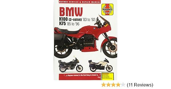 BMW K100 2valve '83 To '92 K75 '85 '96 Haynes Service Repair Manual John 9781785213052 Amazon Books: Wiring Diagram 85 BMW K100 At Outingpk.com