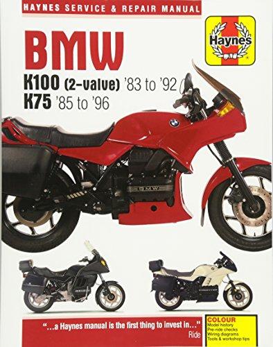 BMW K100 (2-Valve) '83 to '92 K75 '85 to '96 (Haynes Service & Repair Manual)