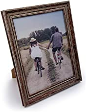Truu Design, Decorative Distressed Weathered Wooden Look Picture Frame