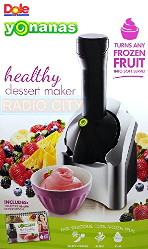 Dole Yonanas The Healthy Dessert Maker, Includes Recipe Book With Over 130 Recipes (Yonanas Soft Serve Maker compare prices)