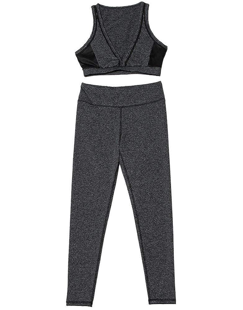 XXSPU Sportbekleidung Sportbekleidung für Damen Yoga-Bekleidung Fitness-Bekleidung Trainingsbekleidung Laufbekleidung Outdoor-Bekleidung Anzüge
