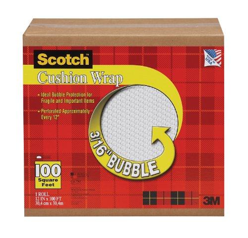 (Scotch Cushion Wrap 7961, 12 Inches x 100 Feet)