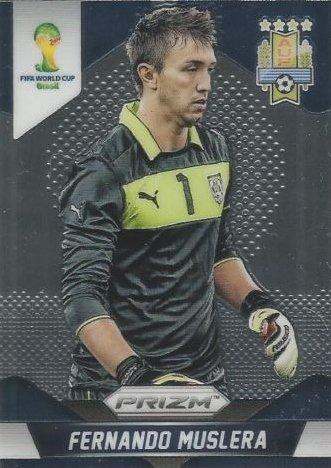Prizm World Cup Panini Brazil 2014 Base Card # 189 Fernando Muslera Uruguay