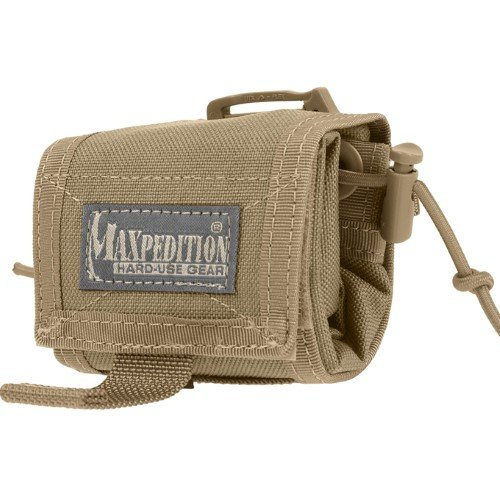 Maxpedition Rollypoly Folding Dump Pouch (Khaki) -