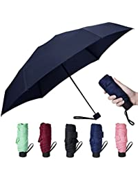 Mini Compact Outdoor Sun & Rain Umbrella Golf Women's Parasol Umbrella