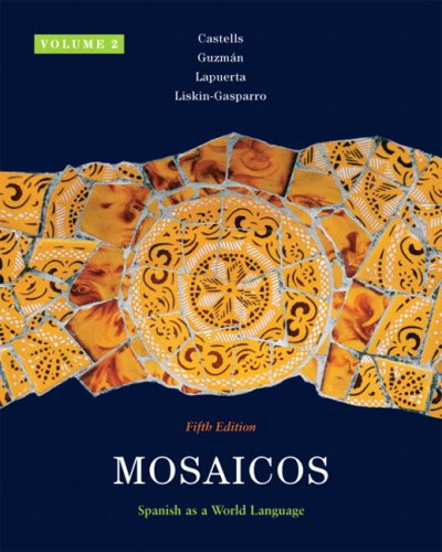 Mosaicos, Volume 2 (5th Edition)