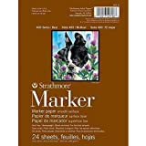 """Strathmore 497-6 400 Series Marker Pad, Glue Bound, 6""""x8"""", 24 Sheets"""