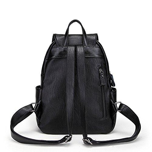 Mefly Un nuovo modo semplice svago All-Match zaino borsa zaino borsa dello studente
