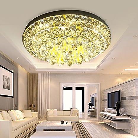 Yun Arte creativo hierro oro led led lámpara de techo ...