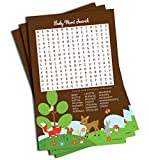 Best All-Ewired-Up Baby Sheets - Word Find Search - Baby Shower Game Review