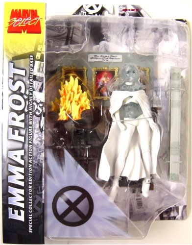 Marvel EMMA FROST Clear Diamond Variant (White Queen) Action Figure by Select - X-men