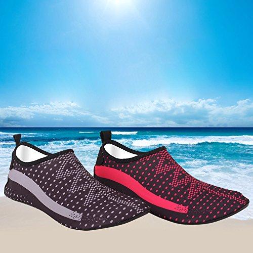 Chaussures Chaussures Unisexe pour Beach natation de L'Eau Surf voile plage Surf la yoga Natation antidérapant Chaussettes la plongée Sockssport marc plongée volley Supewold DE Chaussettes doux O8qddU