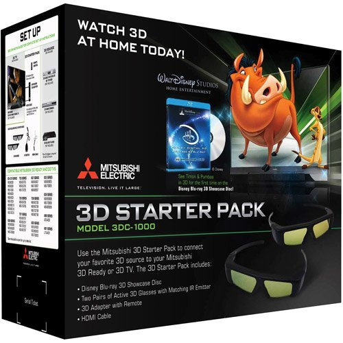MITSUBISHI DLP TV 3DC1000 or 3DA1 complete kit with remote,c