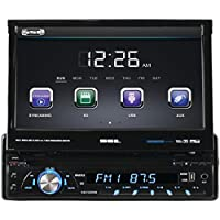 SOUNDSTORM SD726MB 7 Single-DIN In-Dash DVD Receiver with Motorized Touc...