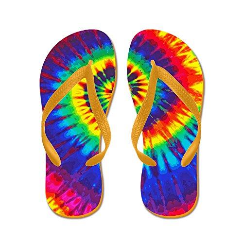 CafePress Bright Ipad - Flip Flops, Funny Thong Sandals, Beach Sandals Orange