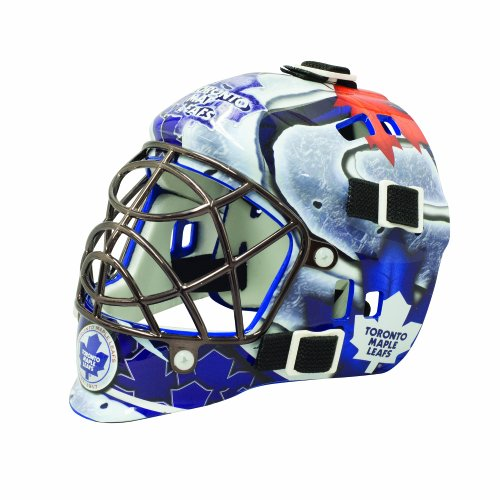 Franklin Sports NHL League Logo Toronto Maple Leafs Mini Goalie Mask