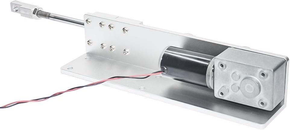 160 rpm, 24 Volt DIY Hubkolben Linearantrieb 12 V 24 V DC Getriebemotor mit Hub 30mm 50mm 70mm f/ür DIY Design