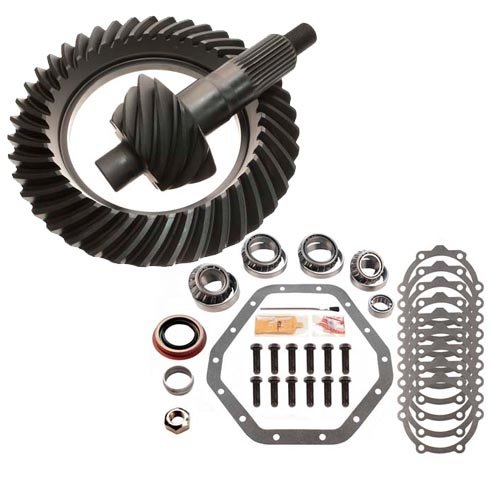 (4.10 RING AND PINION & MASTER BEARING INSTALL KITCOMPATIBLE WITH - COMPATIBLE WITH GM 14 BOLT 10.5)