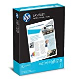 HP Printer Paper, LaserJet, 24lb, 8.5 x 11, Letter, 98 Bright 500 Sheets / 1 Ream (115300R) Made in the USA