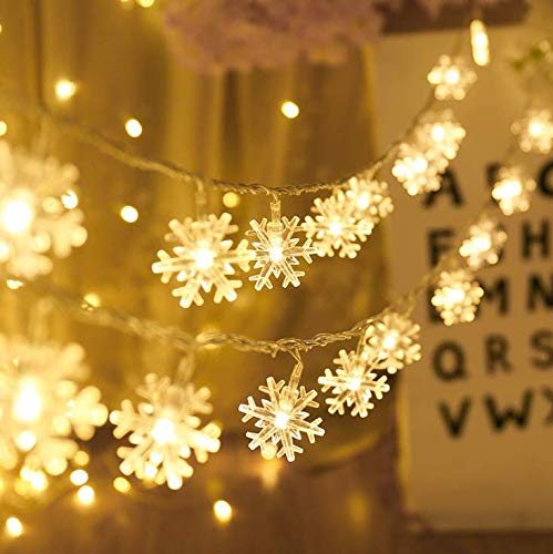 Led Snowflake Light String in US - 2