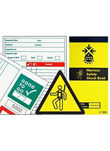 Libro de comprobación de arnés de seguridad Good to Go 51325 ...