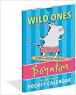 wild ones pocket calendar 2017