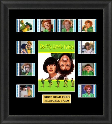Drop Dead Fred Framed Film Cell Memorabilia by www.filmcells.biz
